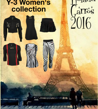French & Fabulous: the Adidas Women's Summer 2016 Tennis Clothing Collection