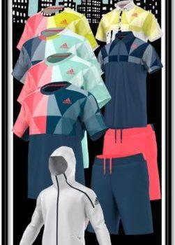 5812989444d adidas Men s Pro Tennis Clothing