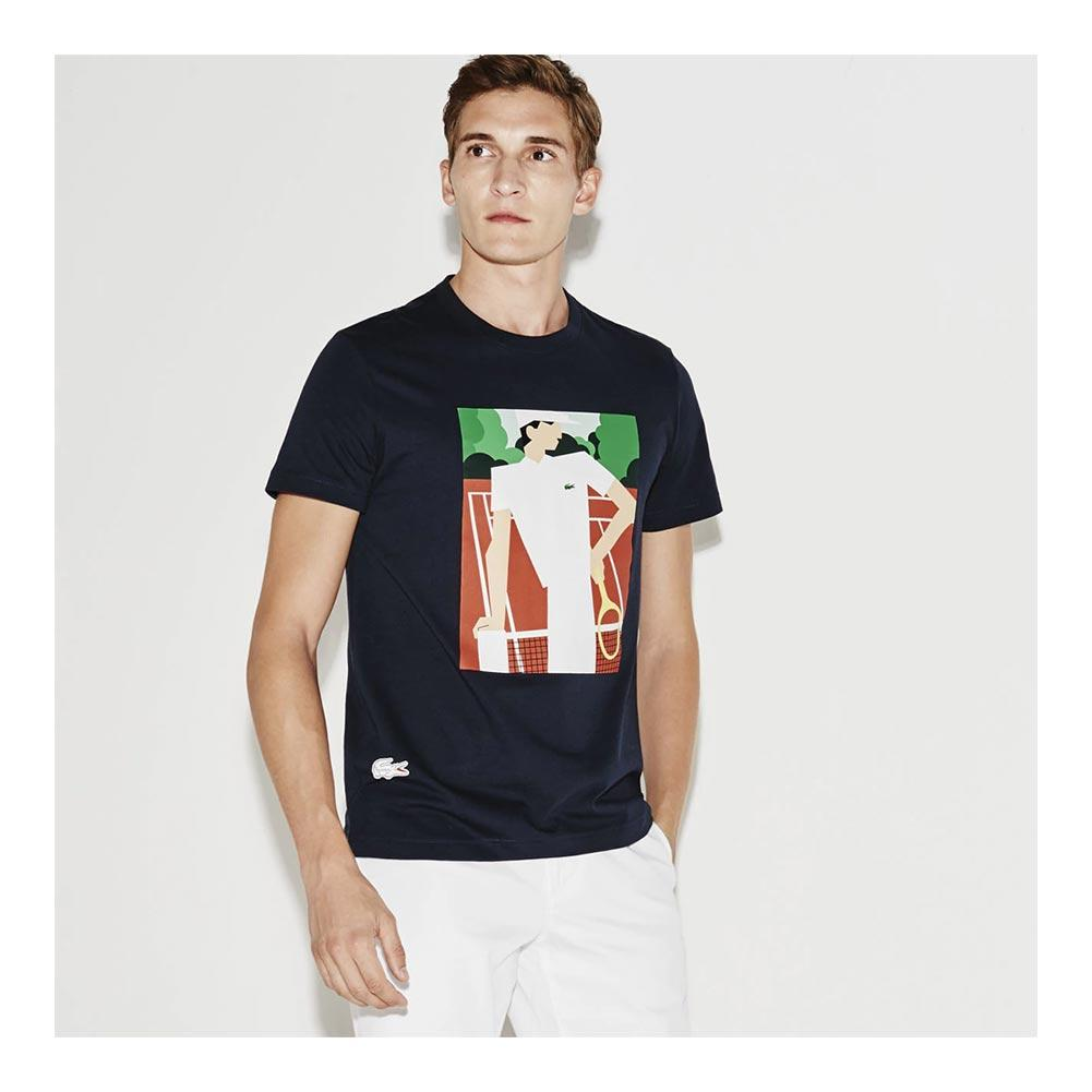 A New Era in Style: Men's French Open Tees from Lacoste