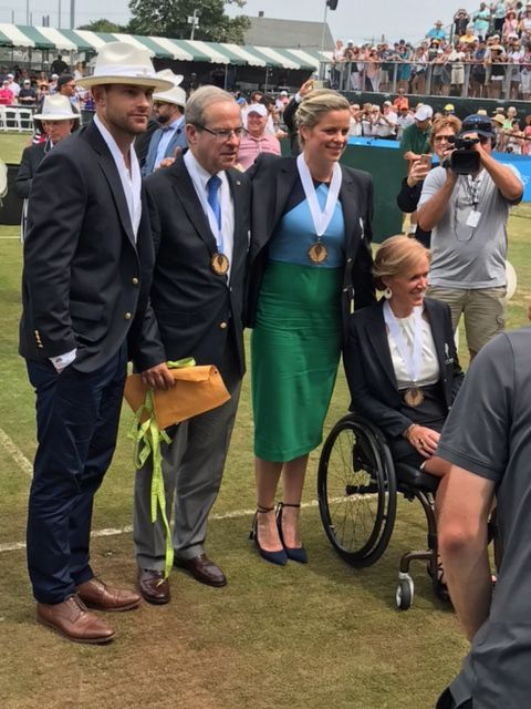 International Tennis Hall of Fame Induction Ceremony: A Day To Remember