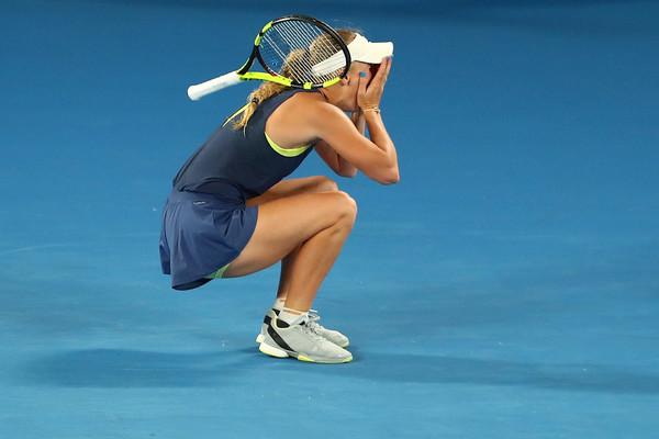 Pro Player Gear – Caroline Wozniacki Wins 1st Grand Slam!