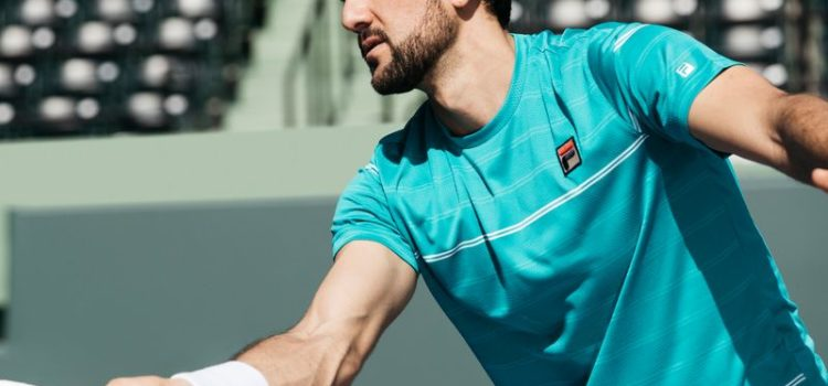 New FILA Tennis Court Apparel at the 2018 Australian Open