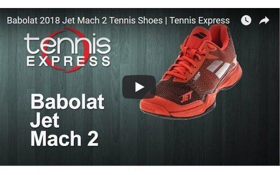 Babolat 2018 Jet Mach 2 Tennis Shoes | Tennis Express