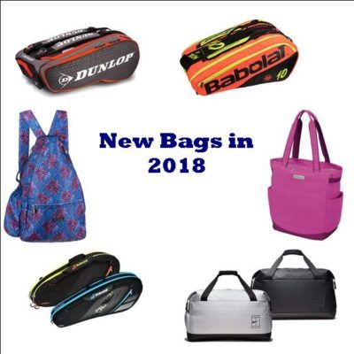 New Tennis Bags for 2018