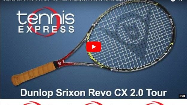 Dunlop Srixon Revo CX 2.0 Tour Tennis Racquet Review | Tennis Express