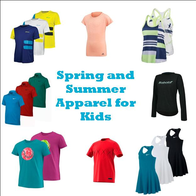 Bright Spring and Summer Collection Items for Kids!