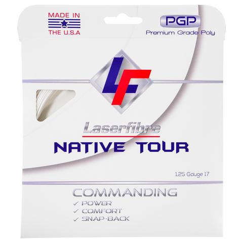 Laserfibre Native Tour The First Polyester String Designed and Made in the U.S.A.