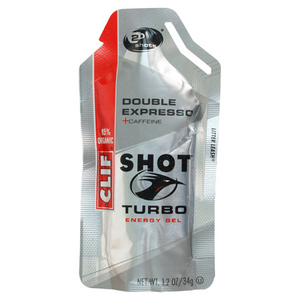 Clif Bar and Co Shot Turbo Energy Gel
