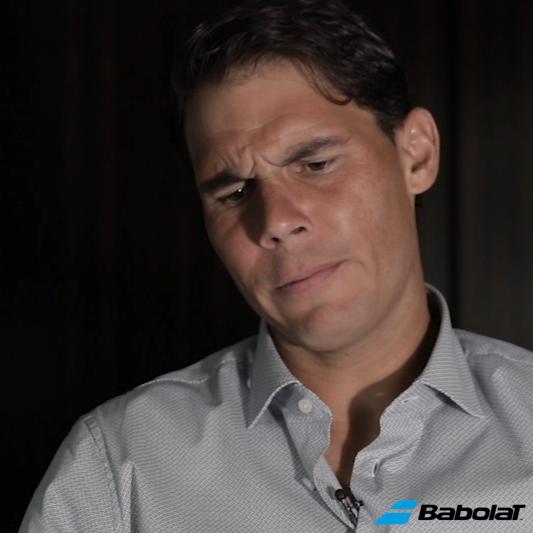 Taking a Stroll Down Memory Lane with Rafael Nadal