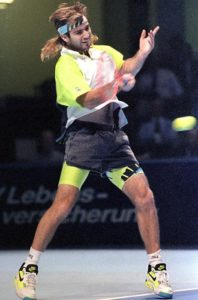 Andre Agassi 90s outfit