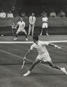 Lew Hoad and Ken Rosewall 1954 Wimbledon