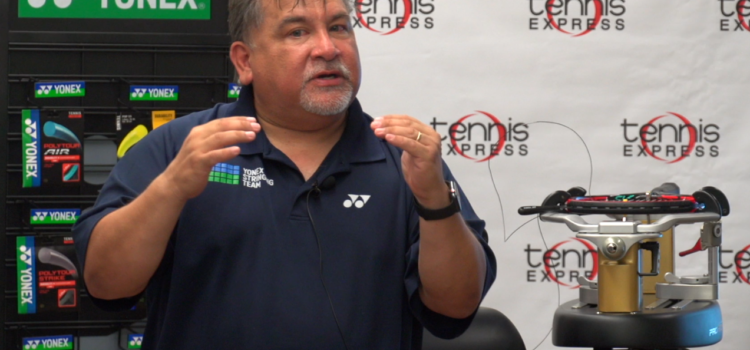 A Meeting with Mark Gonzalez: Yonex Australian Open Stringer and Texas Rep