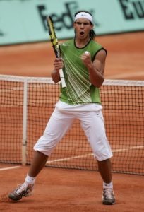 Rafa Nadal 2005 French Open