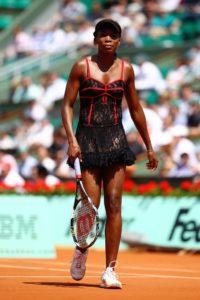 Venus Williams French Open 2010