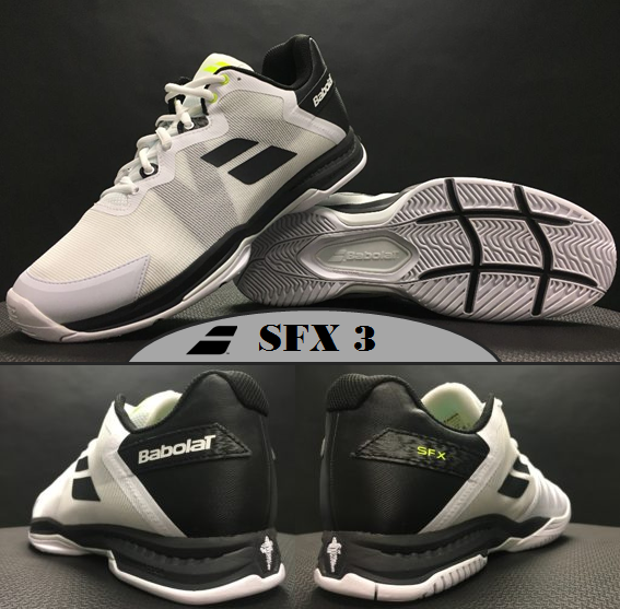 Back to the Basics: Babolat Unveils the SFX 3 All Court Tennis Shoe