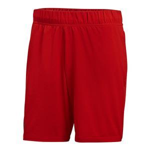 Adidas Barricade Short Scarlet Red