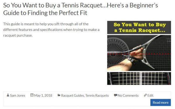 Beginners Racquet Guide Blog Snippet