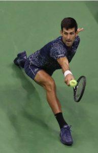 Novak Djokovic at 2018 US Open