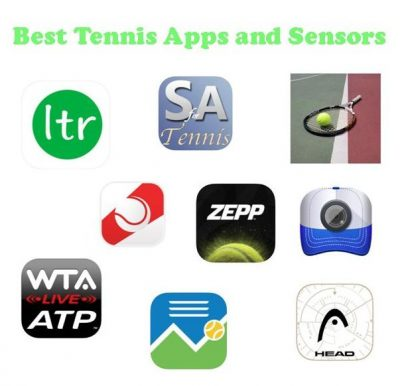 Tennis Apps and Sensors for Tennis Friends