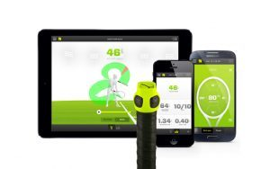 Zepp Tennis Sensor with Mobile Devices