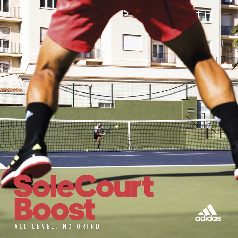 "adidas Replaces Iconic Barricades with New ""Court"" Tennis Shoes"