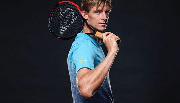 Kevin Anderson Dunlop Srixion CX 200 Tour 18x20 Tennis Racquet Promo