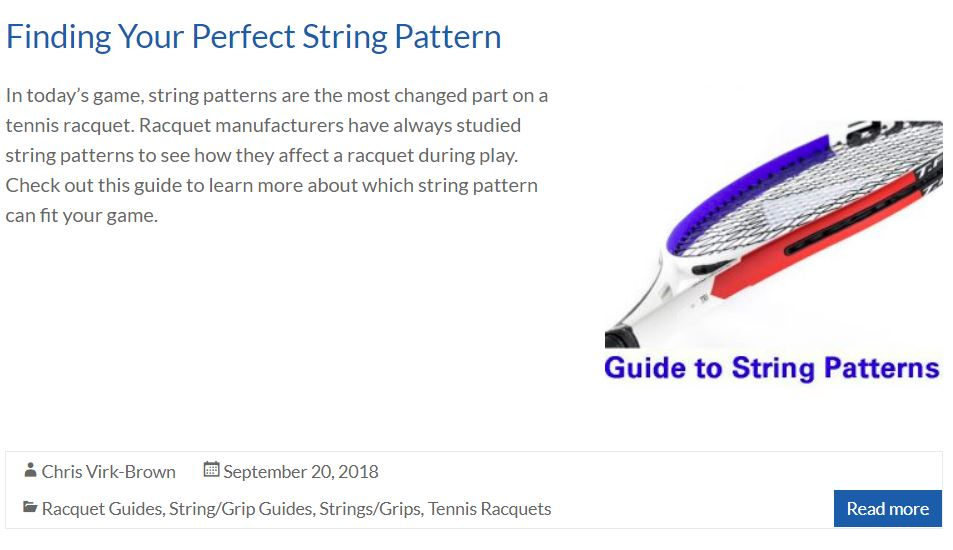 Guide to Stringing Patterns Blog  Cover