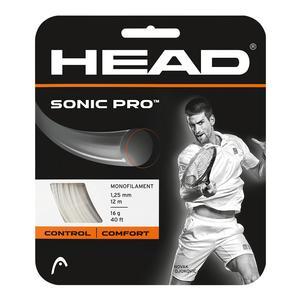 Head Sonic Pro 16G White Tennis String