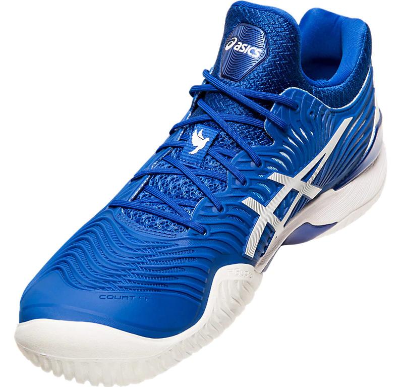 ASICS Court FF 2 Novak Tennis Shoes - Medial Side