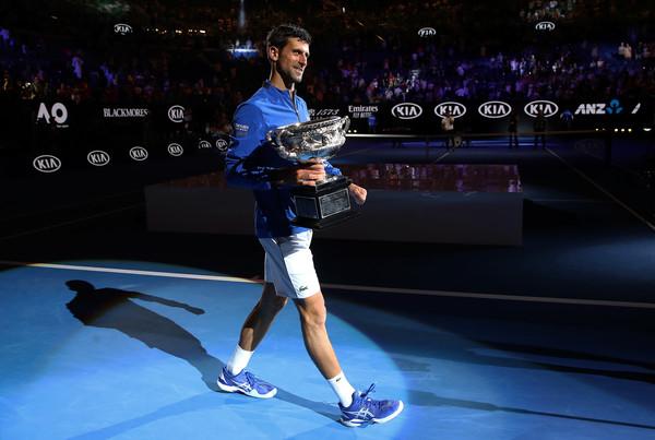 Novak Djokovic 2019 Australian Open Winner