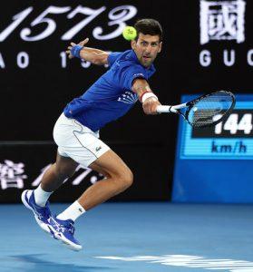 Novak Djokovic Battles Rafael Nadal at the 2019 Australian Open Final